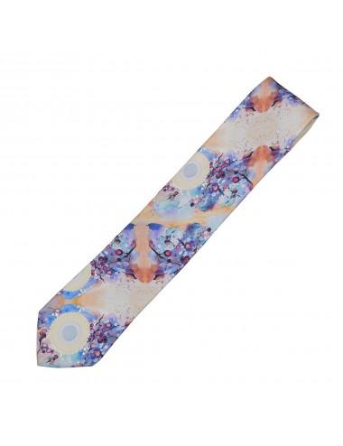 Blooming Sun cravata matase