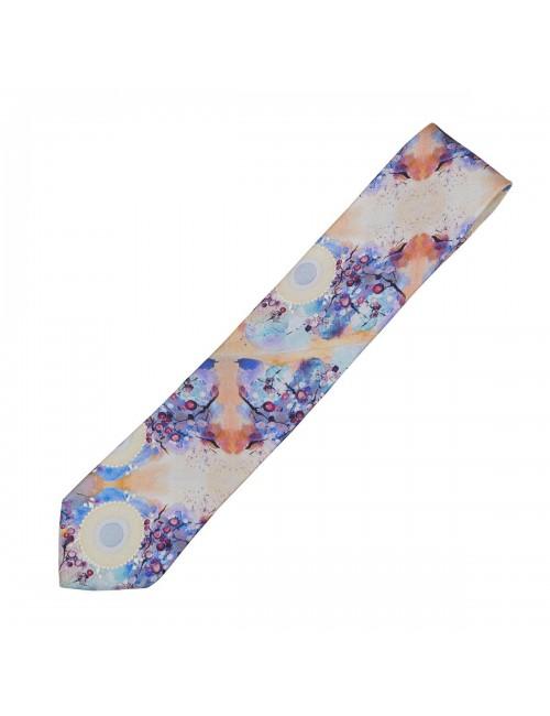 Cravata matase Blooming Sun