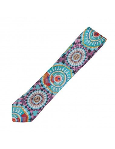 Circular Wishes silk Tie