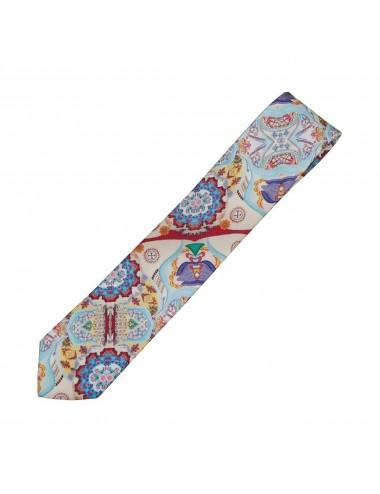Playful silk Tie