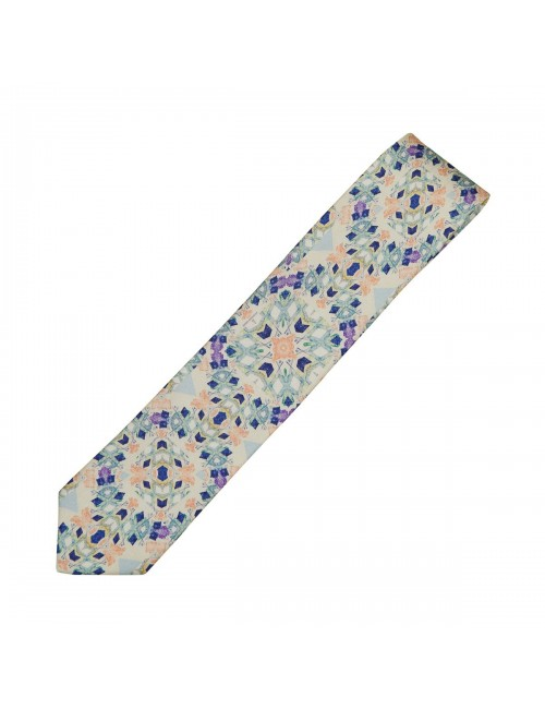 Bending Light silk Tie