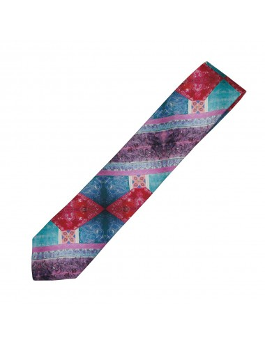 Emotive silk Tie