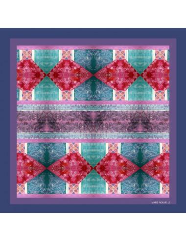 Emotive pocket silk square