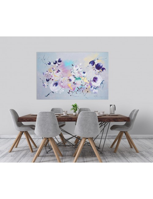 'Blooming Life' Print Canvas