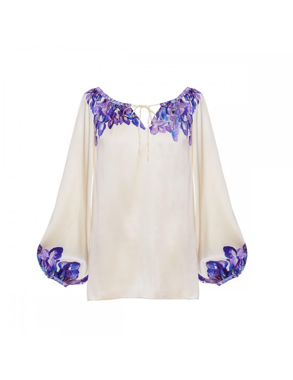 La Blouse Boheme Irises