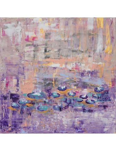Irises Print Canvas
