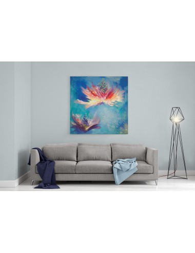 Flowers Whispers Print Canvas
