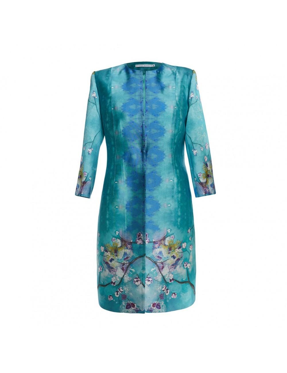 Blossom silk Coat