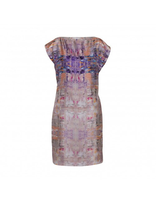 Golden Lake silk dress