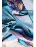 Flower Whispers silk dress