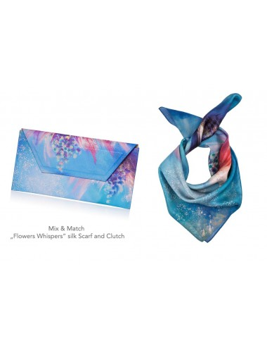 Flowers Whispers Clutch Bag