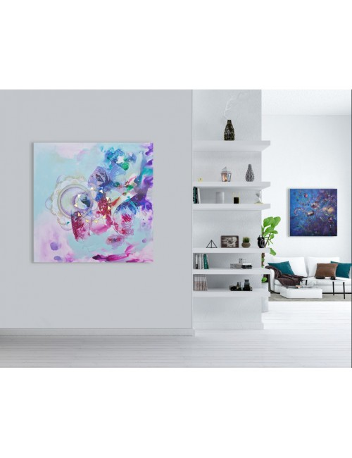 Outside World Print canvas