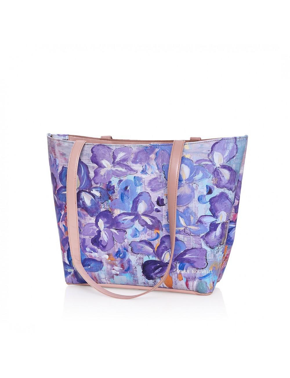 Irises printed Bag