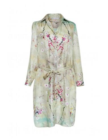 Scent of a Dream silk Shirt Dress