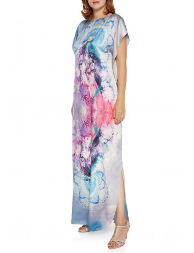 Inside silk Kaftan Dress