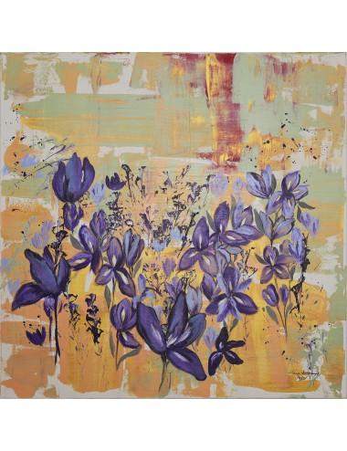Pictura Indigo Lilies