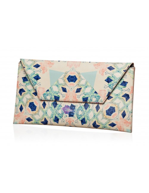 Bending Light Clutch Bag