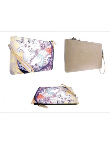 Imperfect Harmony ZIP Clutch Bag