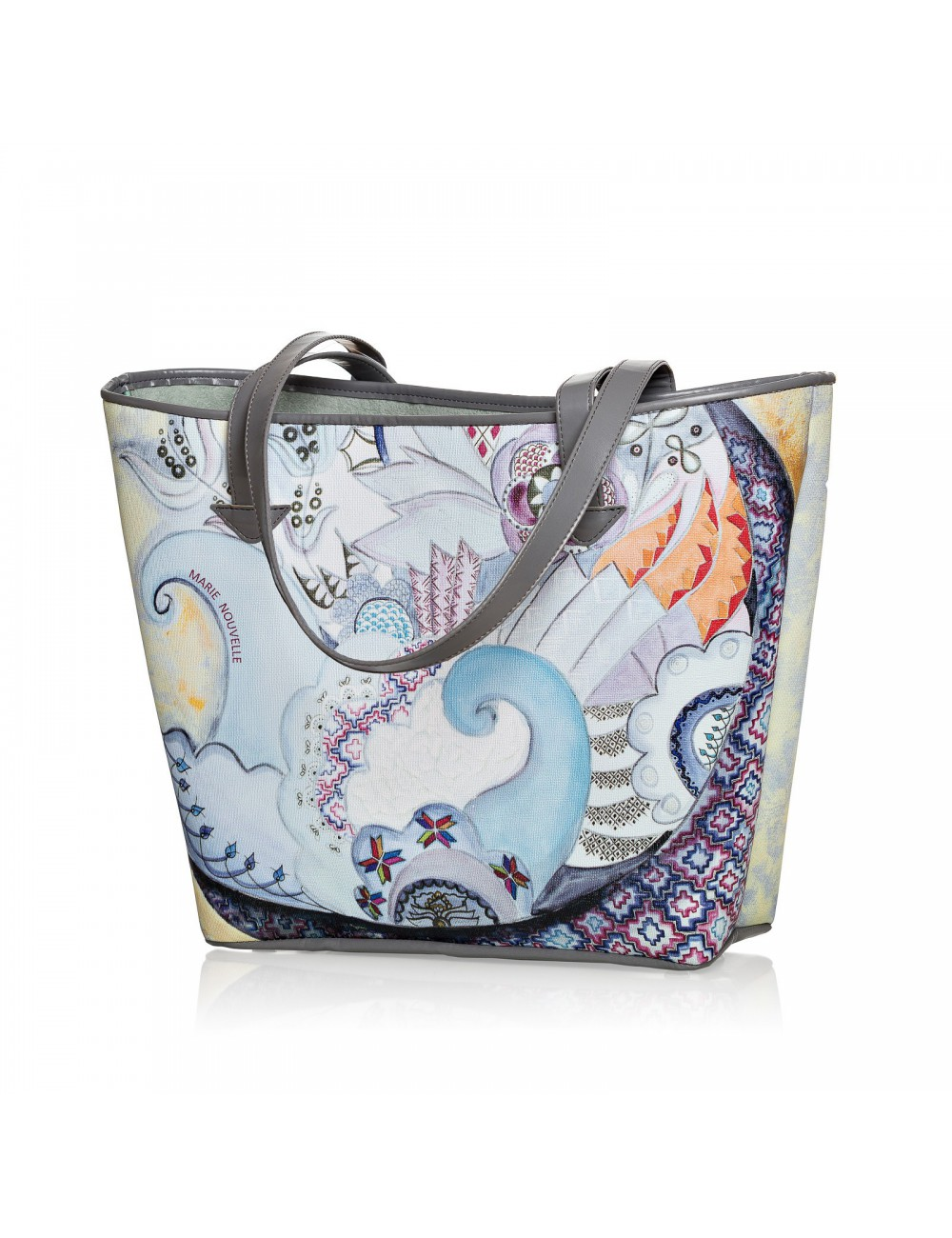 Imperfect Harmony Printed Bag