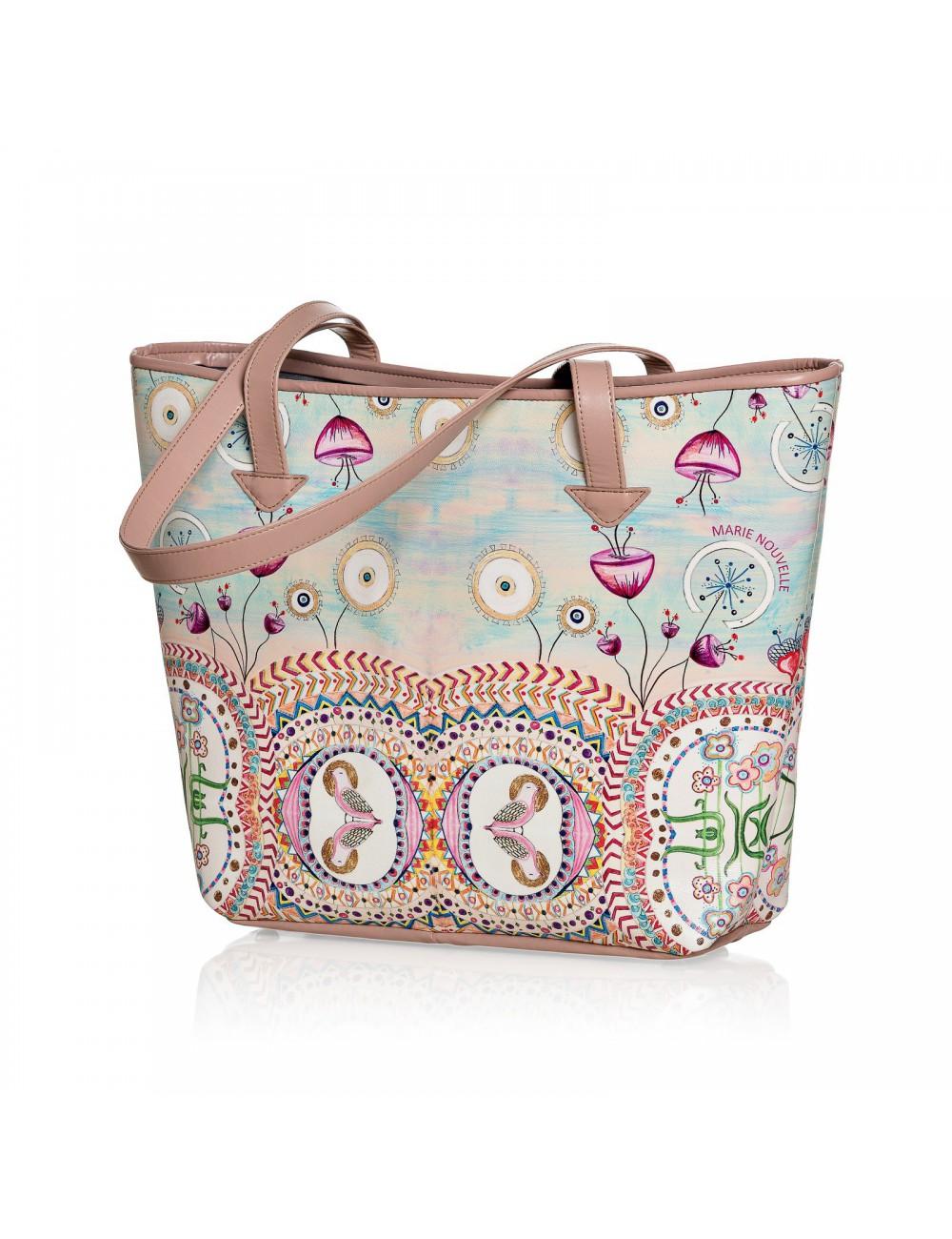 Happy Hills printed Bag