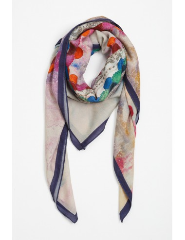 The Channel Silk Scarf