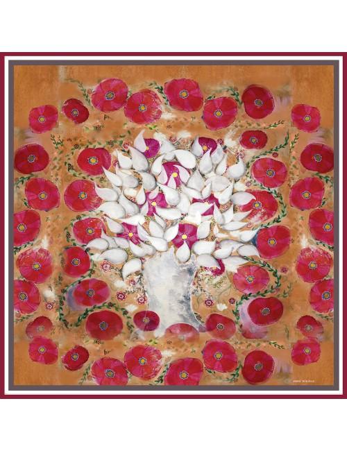 Tree of Life silk Scarf