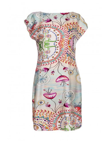 Happy Hills silk dress