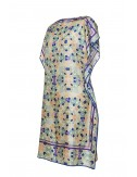 Kaftan silk Dress Bending Light