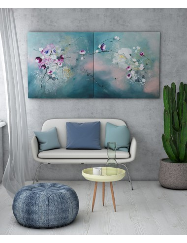 Diptic Nature Whispering Print Canvas
